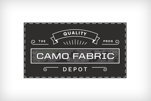 Logo Design - Camo Fabric Depot