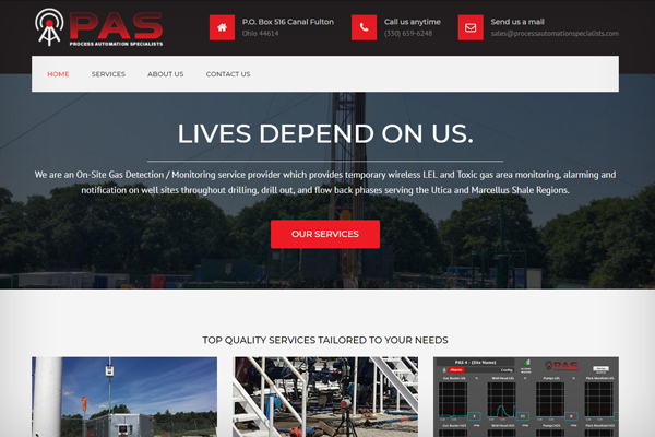Website Design & Development - Process Automation Specialists